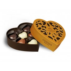 Godiva Chocolate Gold Collection Heart 12pcs