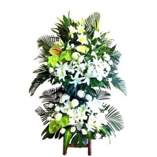 Sympathy Flowers arrangement 2